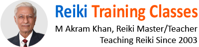 Usui Reiki training classes: Learn Reiki in Urdu and English with Reiki Master teacher M Akram Khan in Lahore, Pakistan